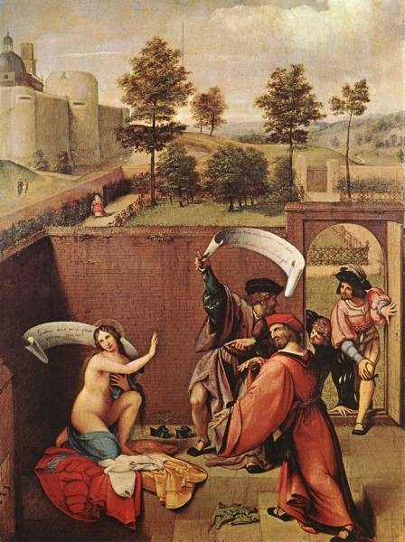 Susanna and the Elders 1517